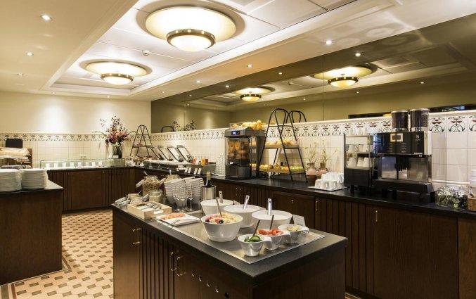 Ontbijtzaal van Hotel Oranje Leeuwarden in Leeuwarden