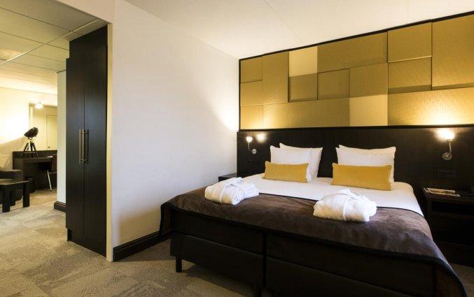 Tweepersoonskamer van Hotel Oranje Leeuwarden in Leeuwarden