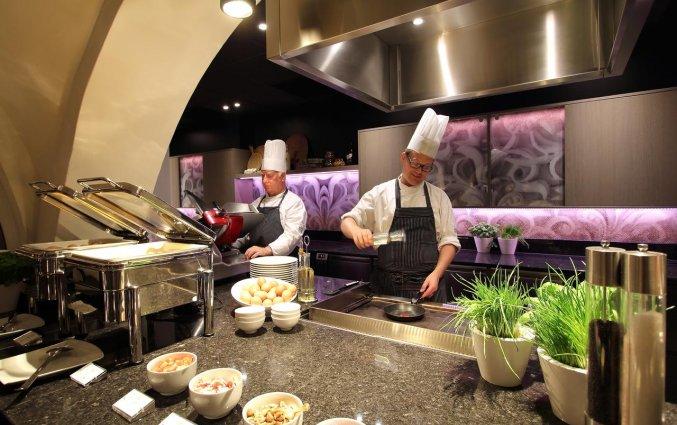 Restaurant Brasserie Cé van Hotel Golden Tulip Central in 's Hertogenbosch