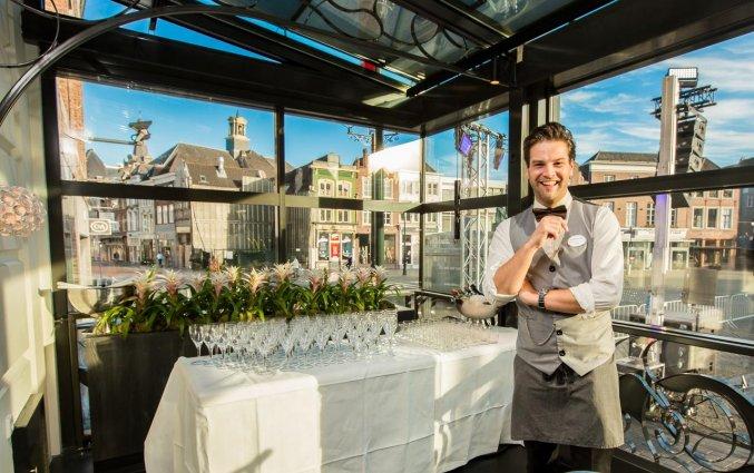 Terras van Hotel Golden Tulip Central in 's Hertogenbosch