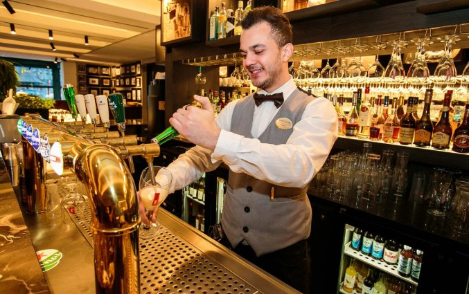 Bar van Hotel Golden Tulip Central in 's Hertogenbosch