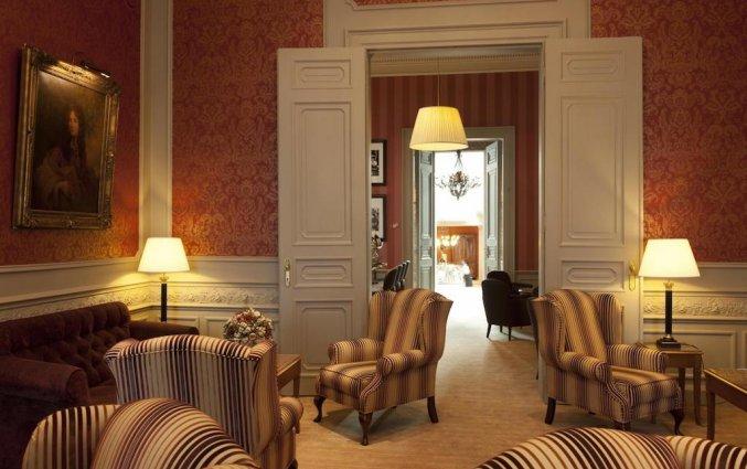 Zithoek van Hotel The Peellaert Brugge Centrum – Adults only