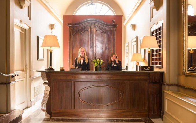 Receptie van Hotel The Peellaert Brugge Centrum – Adults only