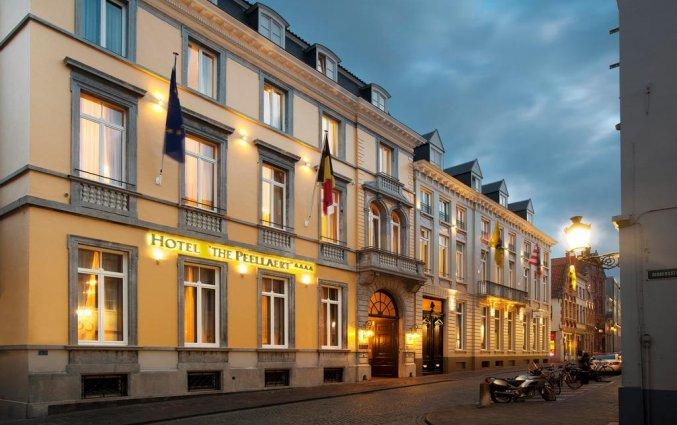 Vooraanzicht van Hotel The Peellaert Brugge Centrum – Adults only