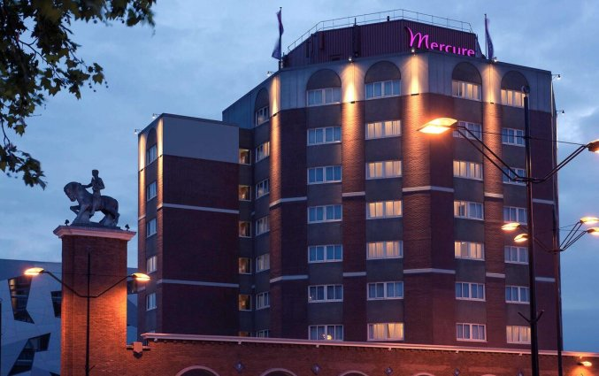 Gebouw van Mercure Hotel Nijmegen Centre in Nijmegen
