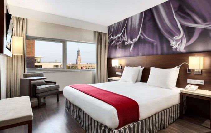 Tweepersoonskamer van hotel NH Amersfoort