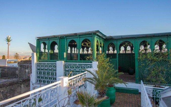 Dakterras van Riad Myra in Fez