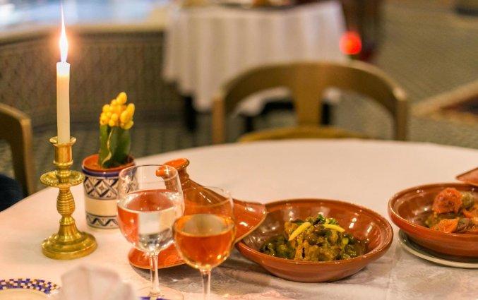 Diner van Riad Myra in Fez