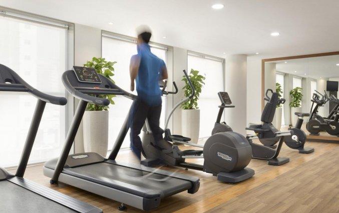 Fitness van hotel Wyndham Dubai Marina