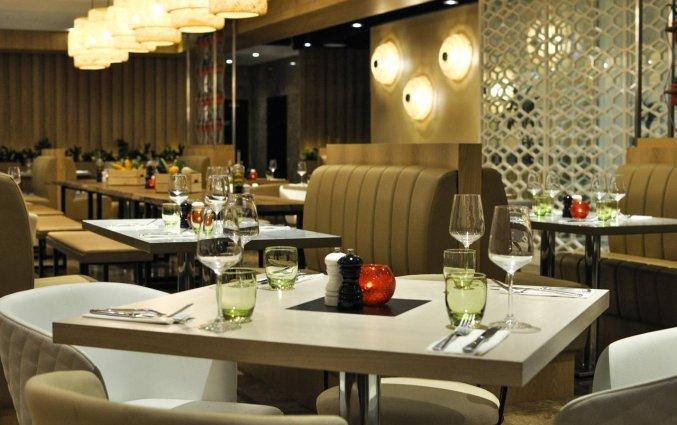 Restaurant van hotel Wyndham Dubai Marina