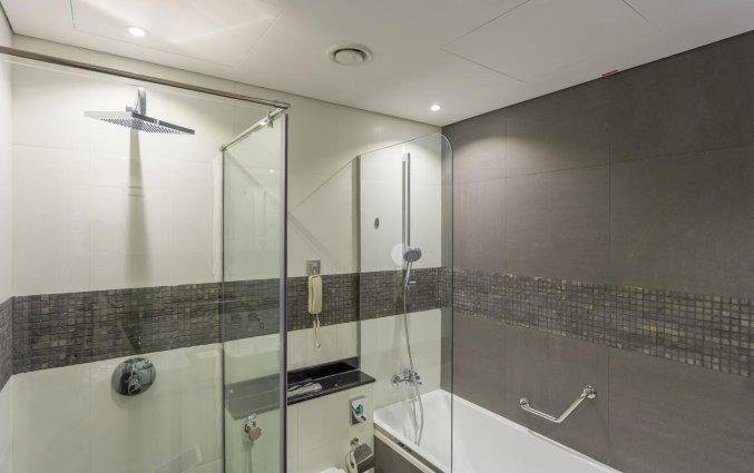 Badkamer van hotel Wyndham Dubai Marina