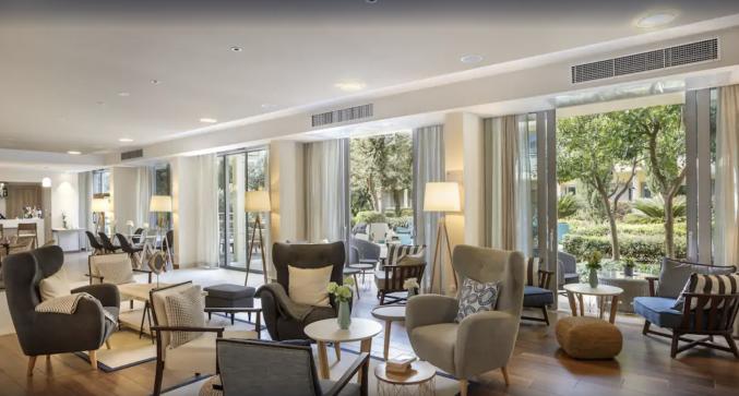 Lounge van Hotel Valamar Argosy in Dubrovnik