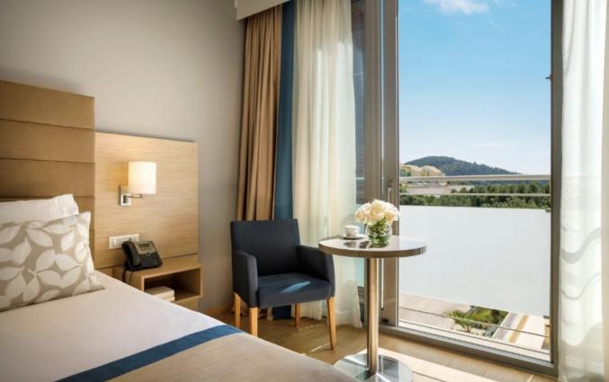Tweepersoonskamer van Hotel Valamar Argosy in Dubrovnik