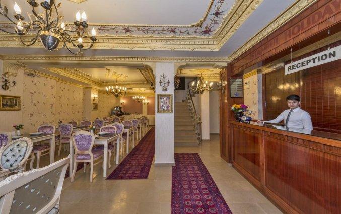 Receptie van hotel Istanbul Holiday