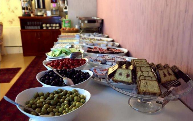 Ontbijt van hotel Istanbul Holiday