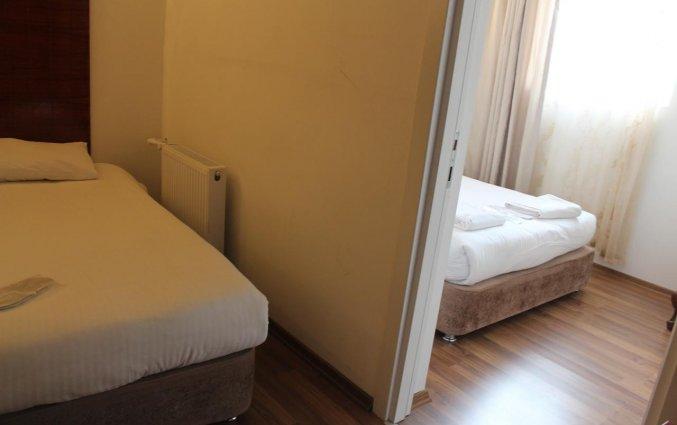 Vierpersoonskamer van hotel Istanbul Holiday