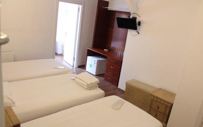 Driepersoonskamer van hotel Istanbul Holiday