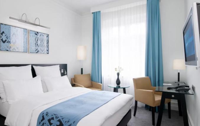 Tweepersoonskamer van hotel Scandic Palace Kopenhagen