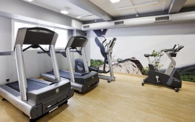 Fitness van hotel Scandic Palace Kopenhagen