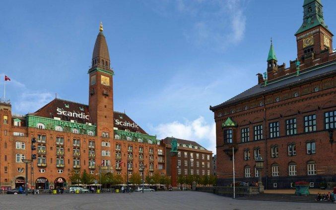 Gebouw van hotel Scandic Palace Kopenhagen