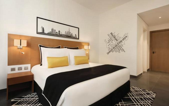 Tweepersoonskamer van hotel TRYP by Wyndham Dubai