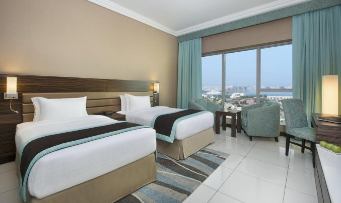 Tweepersoonskamer van Hotel Atana