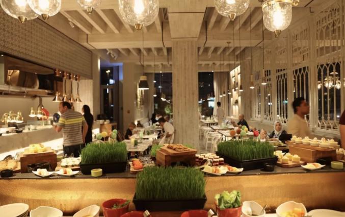 restaurant van Hotel DusitD2 Kenz