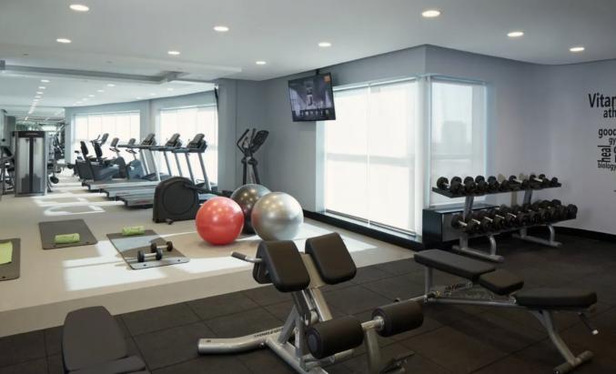 fitnessruimte van Hotel DusitD2 Kenz