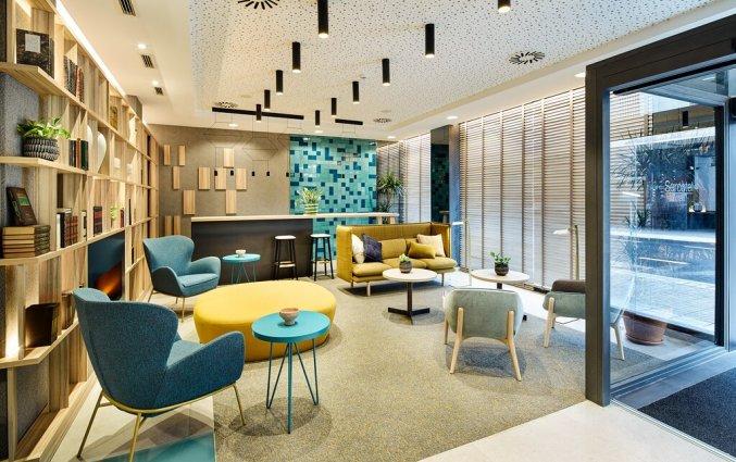 Lounge van Hotel Sercotel Ayala in Bilbao