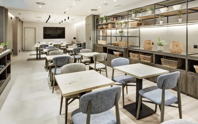 Restaurant van Hotel Sercotel Ayala in Bilbao