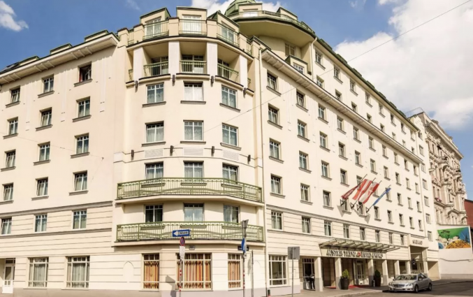 Gebouw van Hotel Austria Trend Hotel Ananas Wien