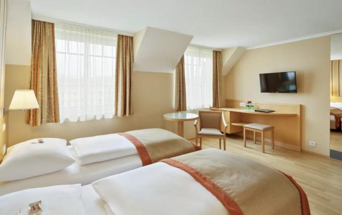 Tweepersoonskamer van Hotel Austria Trend Hotel Ananas Wien