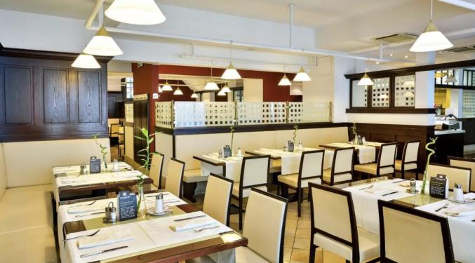 Restaurant van Hotel Austria Trend Hotel Ananas Wien