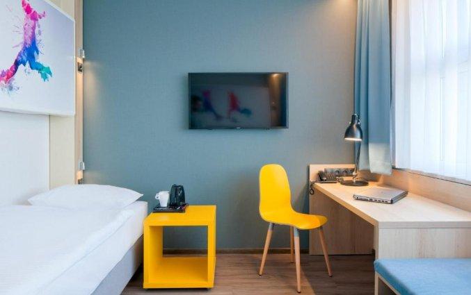 Tweepersoonskamer van Hotel Start Atos in Warschau