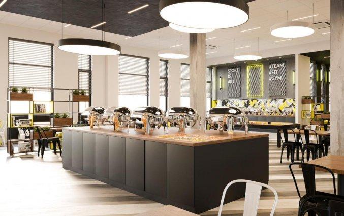 Ontbijtzaal van Hotel Start Atos in Warschau