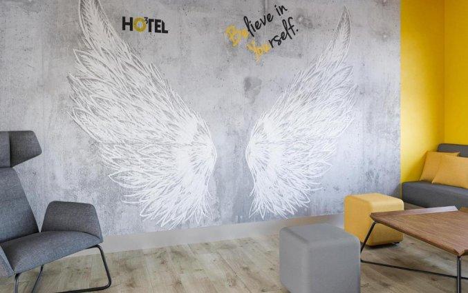 Lounge van Hotel Start Atos in Warschau