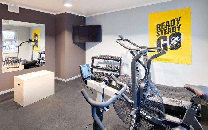 Fitnessruimte van Hotel Start Atos in Warschau