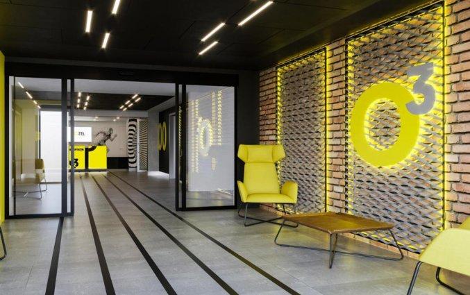 Lobby van Hotel Start Atos in Warschau
