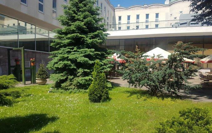 Tuin van Hotel Gromada Warszawa Centrum in Warschau