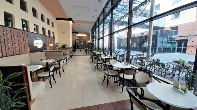 Koffiebar van Hotel Gromada Warszawa Centrum in Warschau