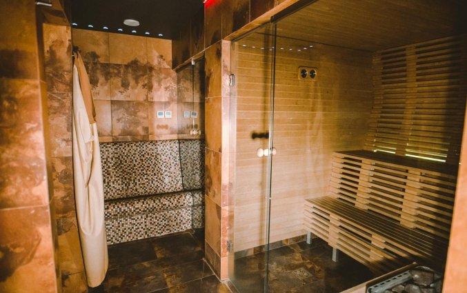Sauna van Hotel Hanza in Riga