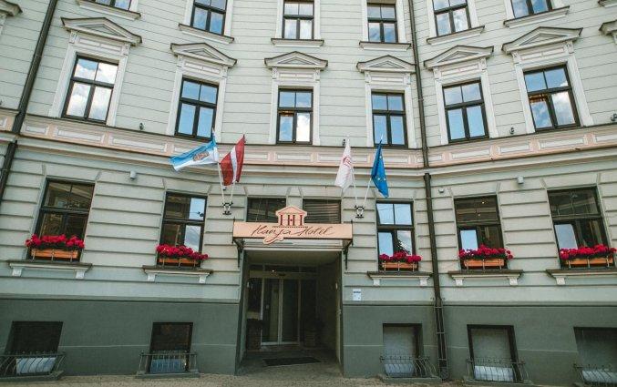 Gebouw van Hotel Hanza in Riga