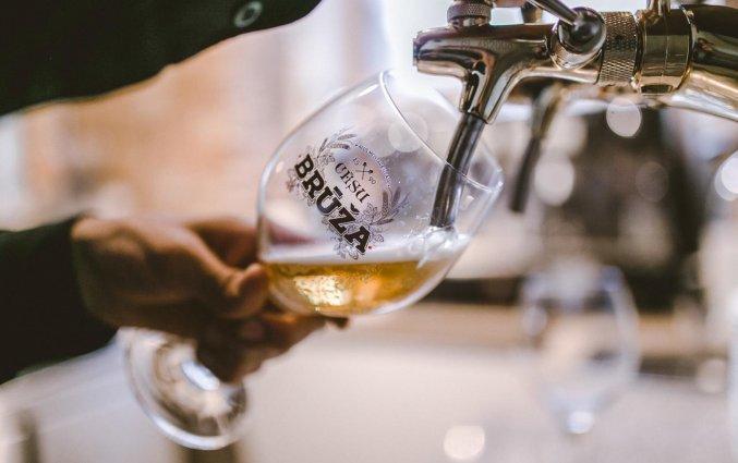 Bier van Hotel Hanza in Riga
