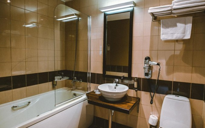 Badkamer van Hotel Hanza in Riga