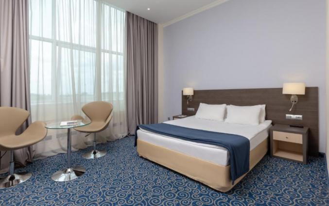 Slaapkamer in hotel Prince Park