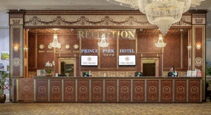 Receptie in hotel Prince Park