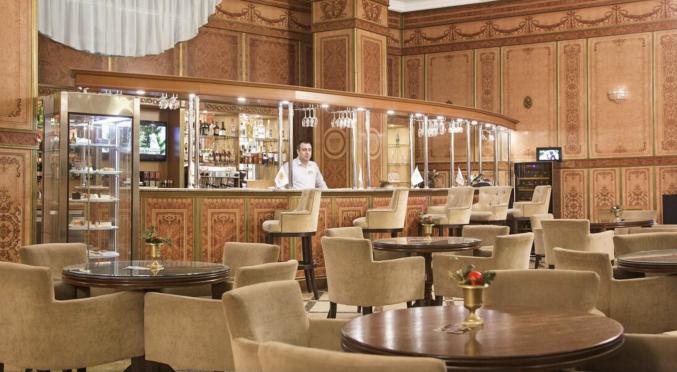 Bar in hotel Prince Park