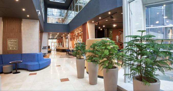 Lounge in hotel Novotel Centre Moskou