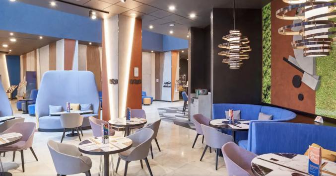 Restaurant in hotel Novotel Centre Moskou