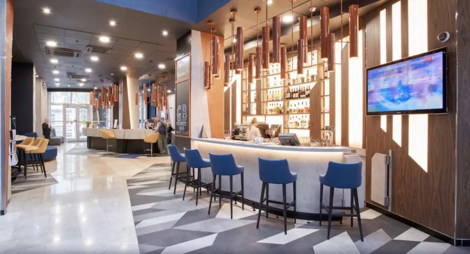 Bar in hotel Novotel Centre Moskou